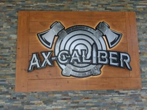 About Ax-Caliber | Lakeland, FL | Axe Throwing